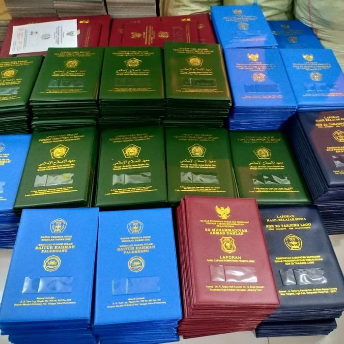 Jual dan Harga Sampul/Map Raport K13 Surabaya Murah